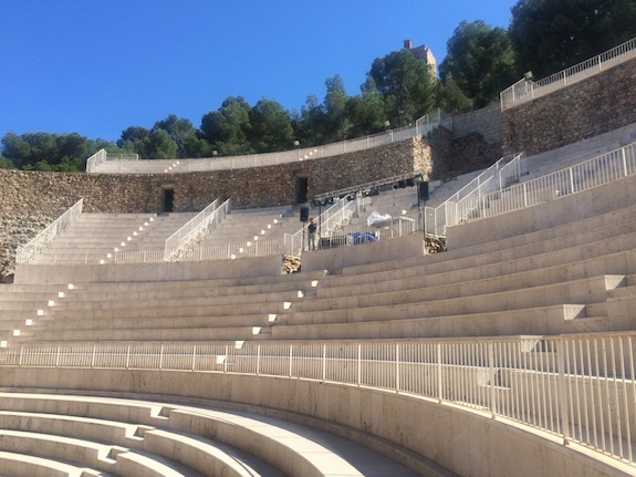 Amfitheater in Sagunto