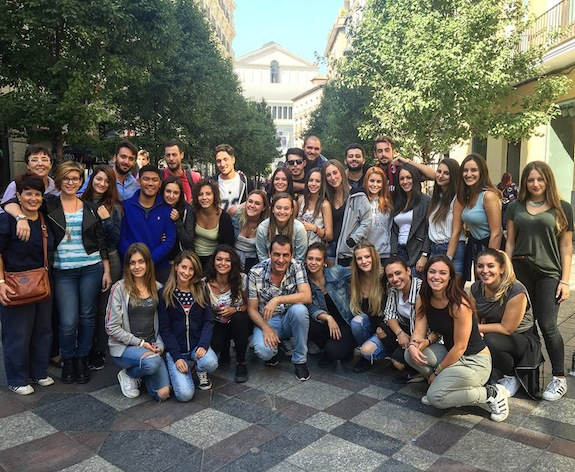 Studenten taalschool Eureka in Madrid